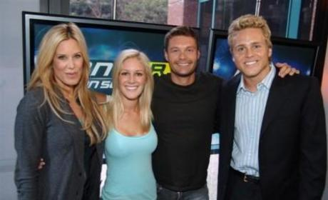 American Idol Picture of the Day: Ryan Seacrest Hangs with the Scum of The Hills