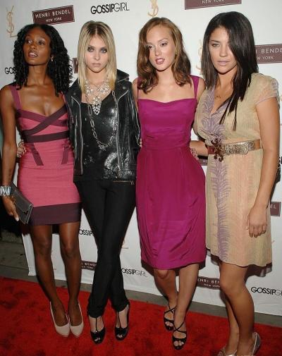 Four Gossip Girls
