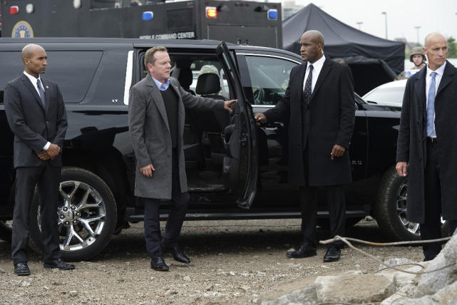 The president arrives designated survivor season 1 episode 2