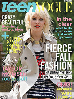 Taylor Momsen Teen Vogue Cover