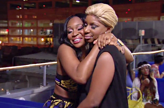 NeNe and Marlo Hug It Out