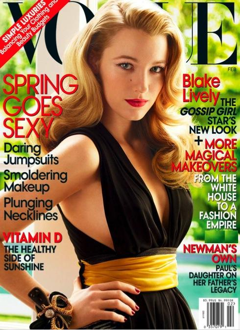 Blake Lively Vogue Cover