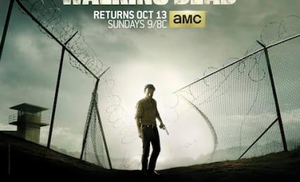 The Walking Dead Season 4 Poster: Prison Break?