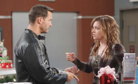 Brady Offers Help - Days of Our Lives