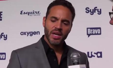 Daniel Sunjata Upfront Interview