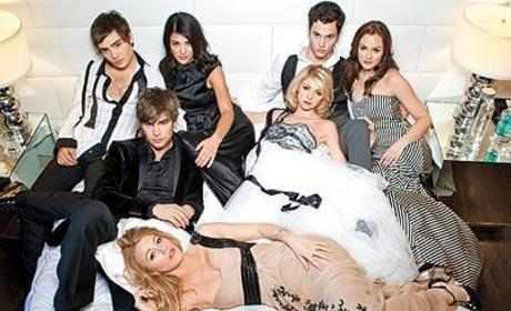 Gossip Girl Cast on People's Most Beautiful List