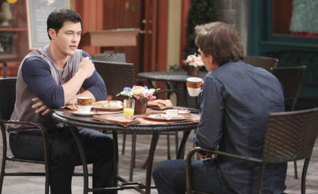 Paul Helps John - Days of Our Lives