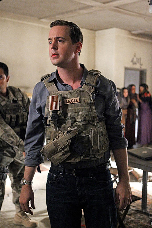 McGee in Afghanistan