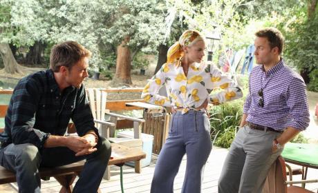 Wade, Lemon and George