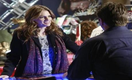 Castle Episode Teaser: Death by Laser!