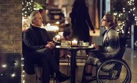 Getting to Know Dad - Arrow Season 4 Episode 13