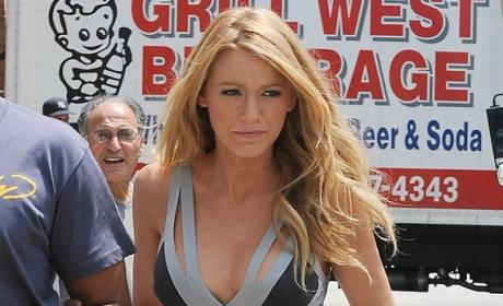 Blake Lively Dons Another Gorgeous Dress