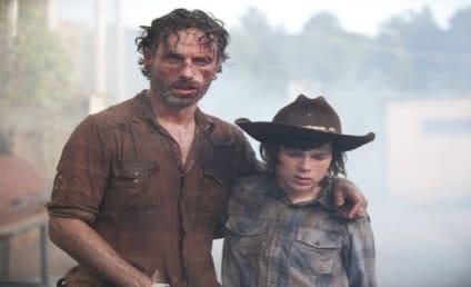 The Walking Dead Season Finale: First Looks!
