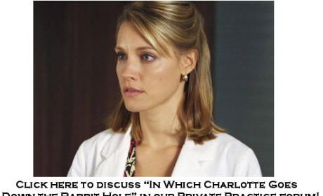 Discuss Tonight's Episode in Our Private Practice Forum!