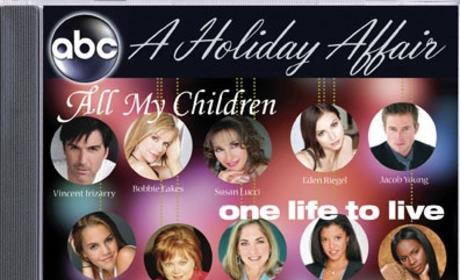 All My Children, One Life to Live, General Hospital Stars Enjoy A Holiday Affair