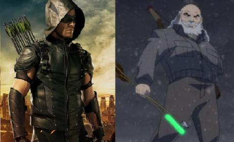 DC's Legends of Tomorrow Heading to 2046 and an Older, Goateed Oliver Queen!