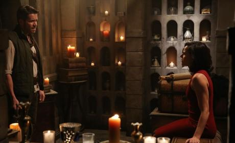Robin and Regina - Once Upon a Time Season 4 Episode 7
