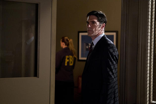 Hotchner on the Season Finale