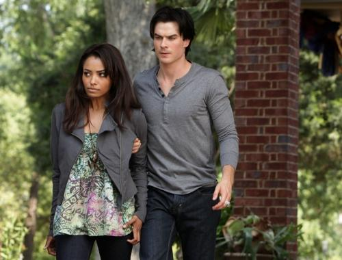 Damon with Bonnie