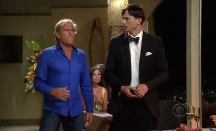 Two and a Half Men Season Premiere Promo: Michael Bolton Big!