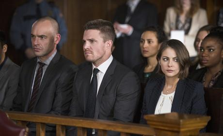 Watching the Festivities - Arrow Season 4 Episode 16