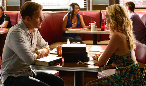 Caroline and Alaric - The Vampire Diaries Season 6 Episode 1