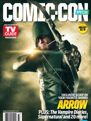 Arrow Comic-Con Cover