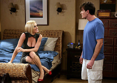 Jenny McCarthy on Two and a Half Men