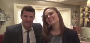 Bones Interviews: David Boreanaz & Emily Deschanel