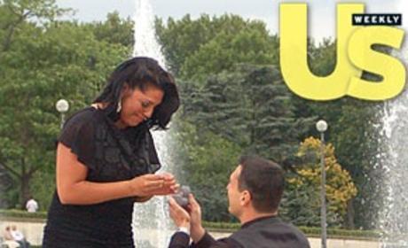 Sara Ramirez Engagement Photo: A Tearful Moment