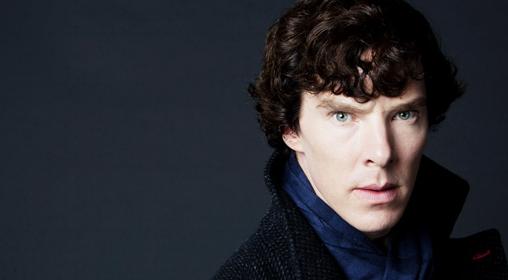 Benedict Cumberbatch as Sherlock