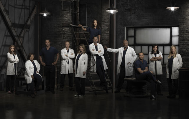 Grey's Cast Photo