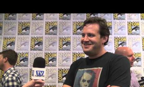 Andrew Kreisberg Comic-Con Interview