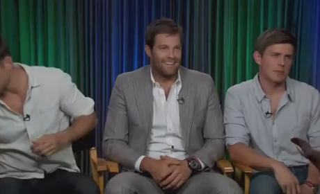 Enlisted Trio Talks New Fox Comedy, Head Rubbing