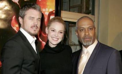 "Grey's Anatomy ""Dreamgirl,"" Hunky Co-Stars Attend Movie Premiere"