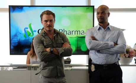 """Lethal Weapon Photos from """"Spilt Milk"""""""