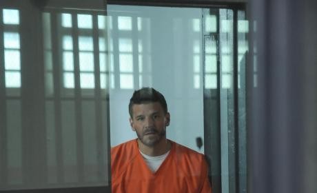 Booth Awaits Trial  - Bones Season 10 Episode 1