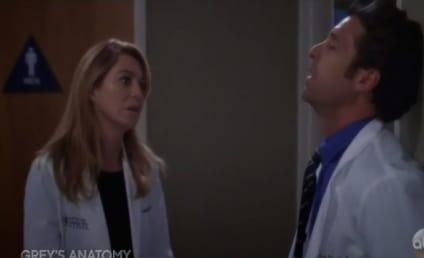 Grey's Anatomy Sneak Peek: Down Goes Derek!