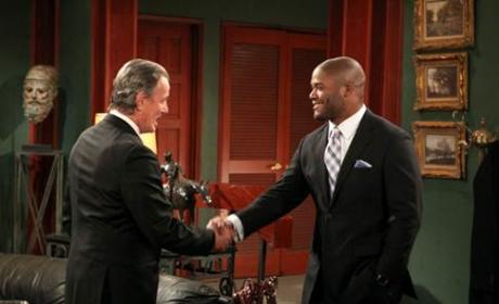 Michael Robinson Appears on The Young and the Restless