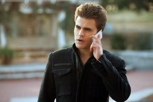Stefan on Phone