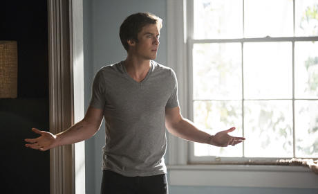 What, Damon Worry? - The Vampire Diaries Season 7 Episode 4