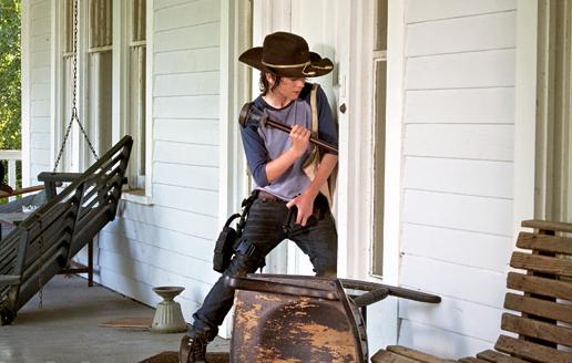 Carl, Breaking In