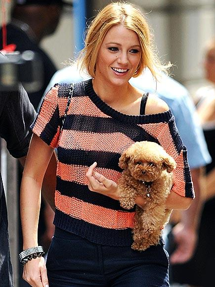 Blake Lively Shows Her Stripes