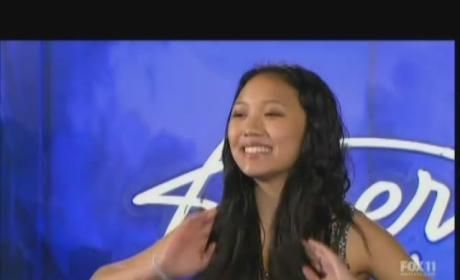 Thia Megia on American Idol