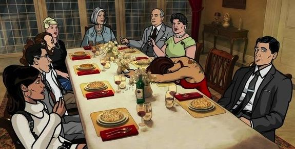 Archer Dinner Party