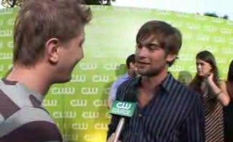 Chace Crawford, Ed Westwick and Penn Badgley Speak