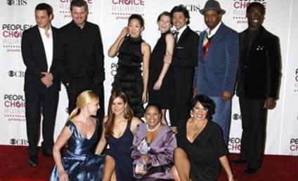 """Grey's Anatomy Cast in """"Celebrity 100"""""""