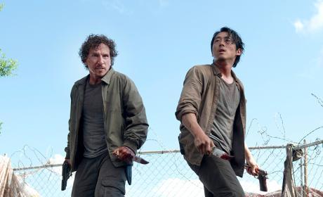 Glenn and Nicholas - The Walking Dead