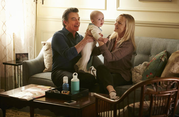 Joan, Arthur and Baby Mackenzie
