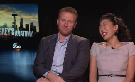 Grey's Anatomy Interview: Sandra Oh and Kevin McKidd
